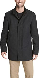 Dockers Men's Wool Melton Two Pocket Full Length Duffle Coat