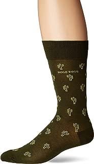 Men's Cactus Pattern Dress Sock