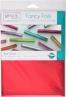 Gina K. Designs for Therm O Web 18031 Fancy Foils, 6