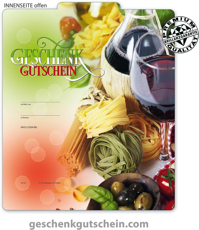 50 50 50 Stk. Premium Geschenkgutscheine Gutscheine zum Falten MultiFarbe  für Italienische Restaurants, Pasta G238, LIEFERZEIT 2 bis 4 Werktage  B00JE7VM02   Exquisite (mittlere) Verarbeitung  0bd836