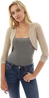 PattyBoutik Women Bolero Shrug Light Knit Cardigan