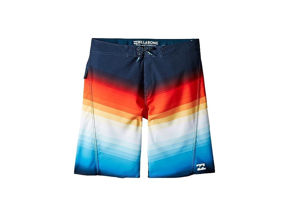Billabong Kids Fluid X Boardshorts (Big Kids) (Sunset) Boy