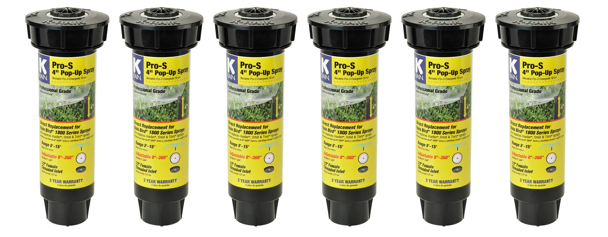 K Rain Professional Sprays Adjustable Pattern