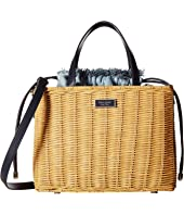 Kate Spade New York - Sam Wicker Medium Satchel