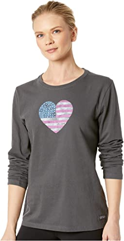 American Love Crusher Long Sleeve T-Shirt