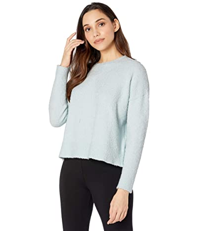 Eileen Fisher Boxy Crew Neck Top (Clearwater) Women