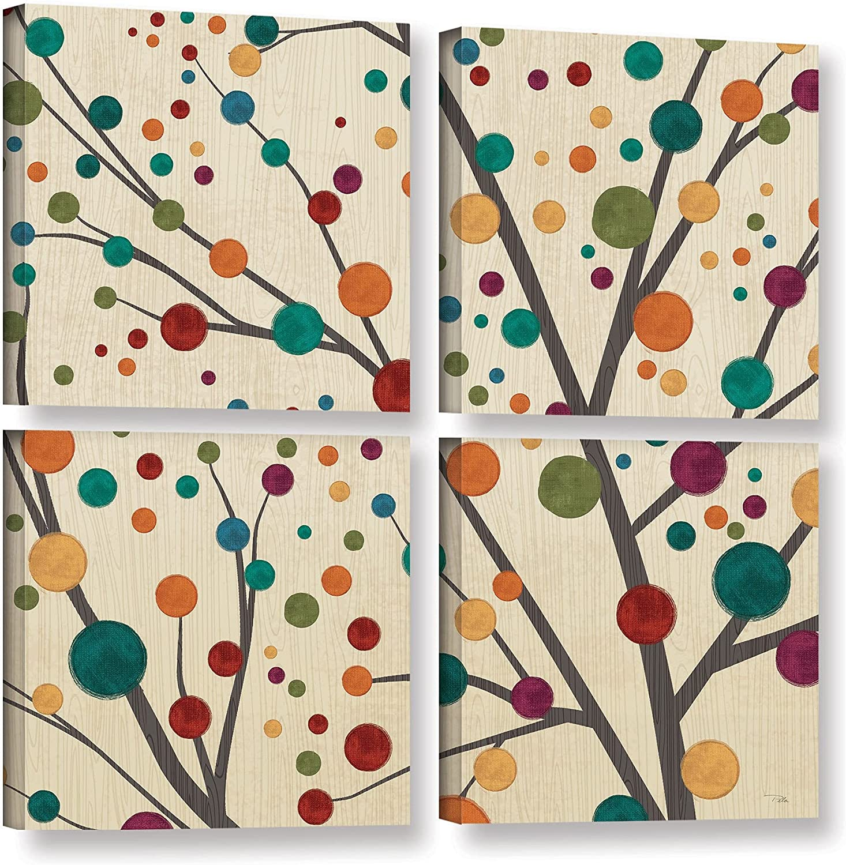ArtWall Studio Pela's Flying Colors Tree 4 5 ☆ very Factory outlet popular Piece I Galler Light