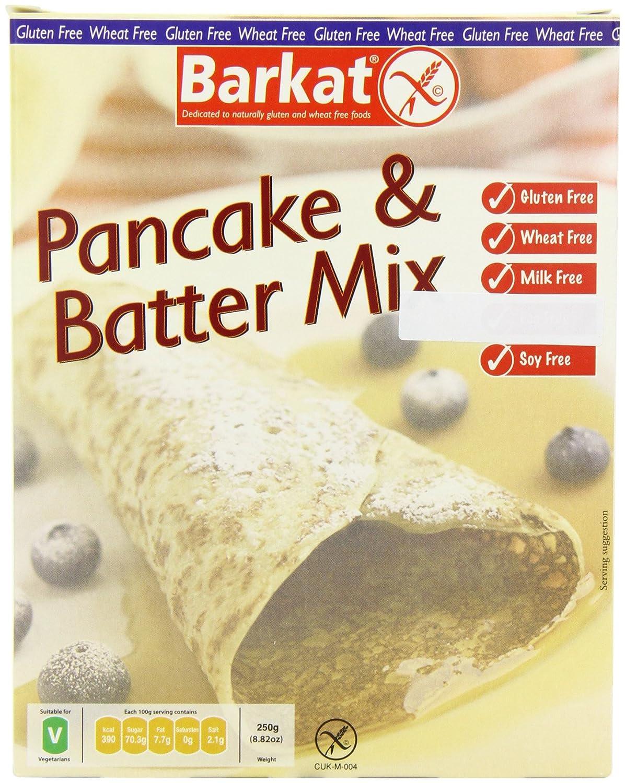 Barkat - Gluten Free Pancake and 250g Batter 6 of Mix Direct sale manufacturer Max 51% OFF Case
