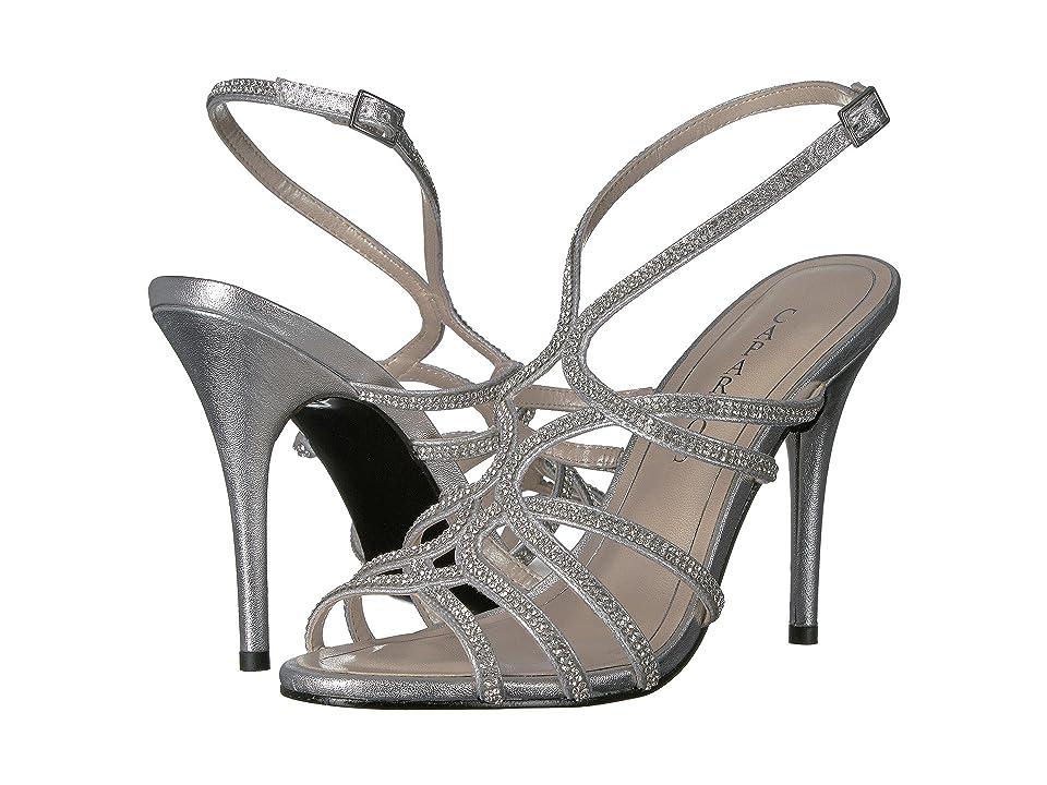 Caparros Helena (Silver Metallic) High Heels
