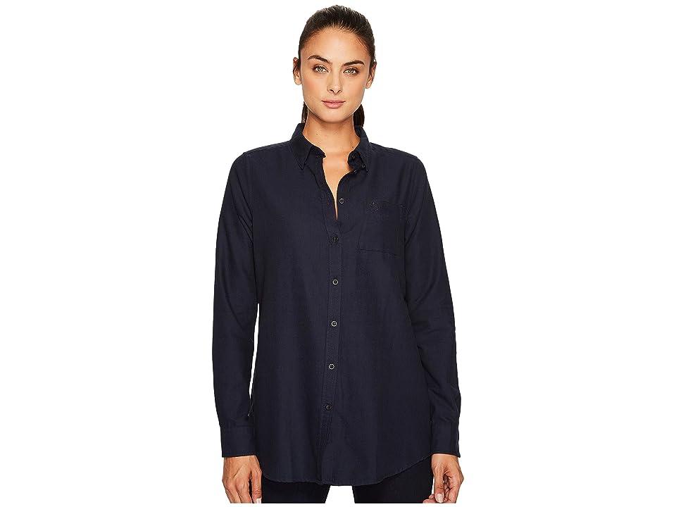 Fjallraven High Coast Flannel Shirt (Night Sky) Women