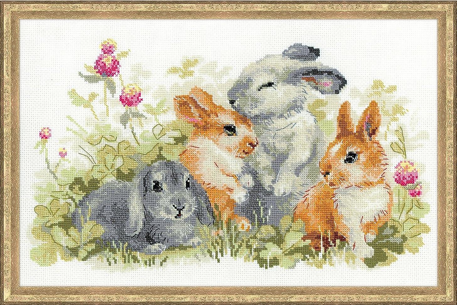 RIOLIS 1416 - Funny Rabbits - Counted Cross Stitch Kit 15?