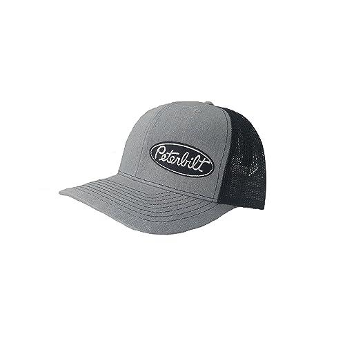 9d1413c4e4e Richardson 3D Puff Peterbilt Logo Emblem Hat Cap Adult Adjustable Snapback  Unisex