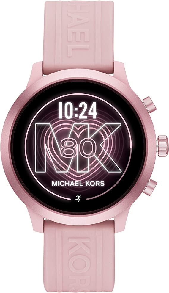 Michael Kors Access MKGO Smartwatch- Lightweight Touchscreen Powered with Wear OS by Google with Heart Rate