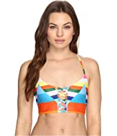 Mara Hoffman - Vela Lattice Halter