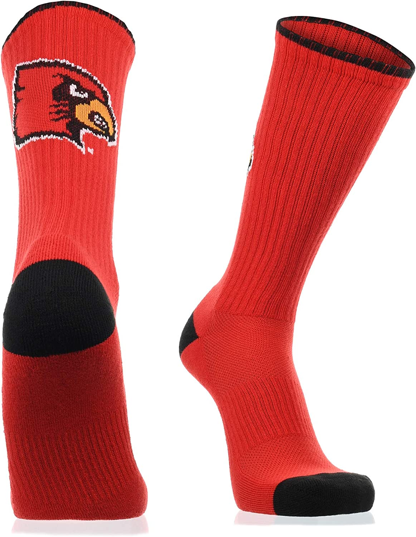 Ranking TOP19 TCK Louisville Cardinals Socks Crew Campus Length Popular products Legend