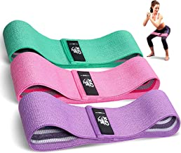 CFX Resistance Hip Bands, fitnessbandenset, yogagordel in 3 treksterktes, trainingsband, yogaband als weerstand en onderst...