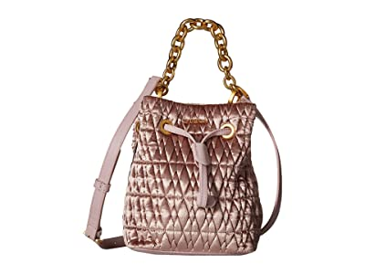 Furla Stacy Cometa Mini Drawstring (Rosa) Drawstring Handbags