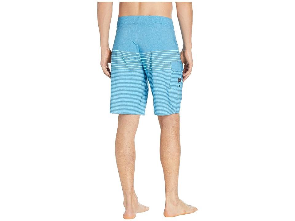 Billabong All Day Heather 19 (Blue) Men's Swimwear