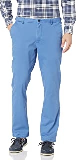 Izod Men's Saltwater Straight Fit Stretch Flat Front Chino Pant Casual Pants