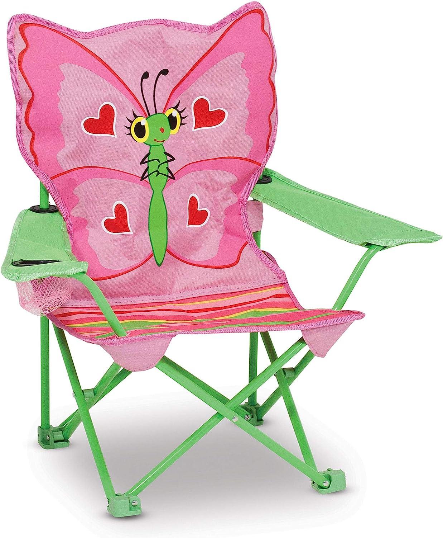 Melissa  Doug Bella Butterfly Child's Outdoor Chair (Frustratio