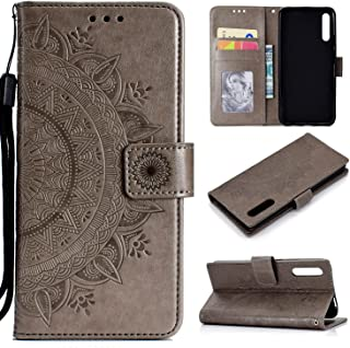 CHENCHUAN Case Cover For Huawei Honor 9X Totem Flower Embossed Horizontal Flip TPU + PU Leather Case with Holder & Card Sl...