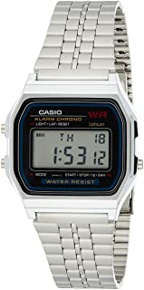 Casio Casual Watch Digital Display Quartz for Men A159W-N1DF