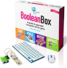Boolean Box Build a Computer Science Kit for Kids | Includes Electronics, Coding,..