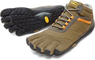Vibram FiveFingers Men's Trek Ascent Insulated Barefoot Shoes & Toesock Bundle