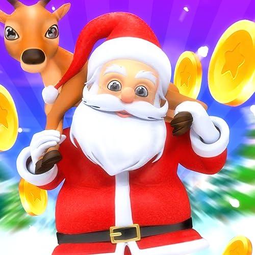 Santa Claus Run: Endloses Weihnachtslaufabenteuerspiel 3D