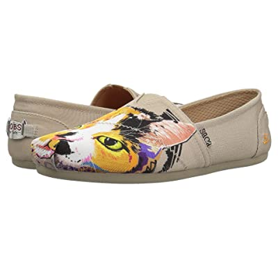 BOBS from SKECHERS Bobs Plush Calico Cuddles (Taupe) Women