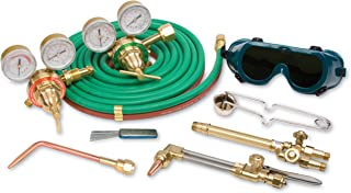 FlameTech FTVMDUK-20-300 Medium Duty Utility Kit for Cutting and Welding, Cuts Up to 5