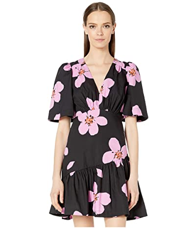Kate Spade New York Grand Flora Dress (Black) Women