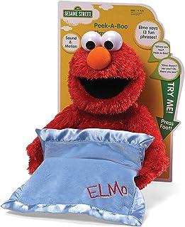 c16ed3dc705292 Sesame St - Peek-A-Boo ElmoStuffed Plush Toy,38 x 30 x