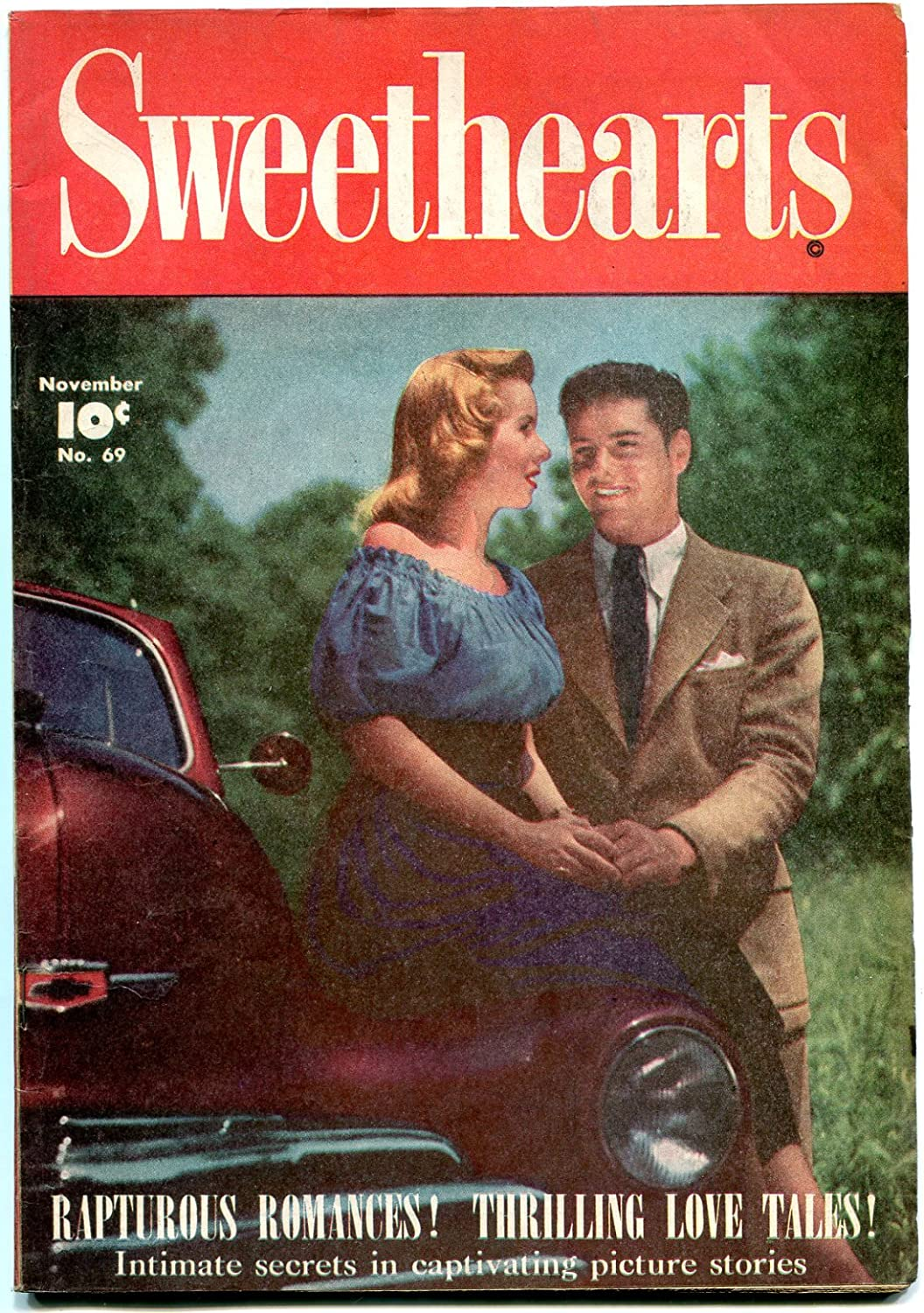 Sweethearts #69 1948- In stock Golden Age Ford- Photo cove Spring new work Romance- Glenn