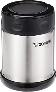 Zojirushi Steel Food Jar, 11.8-Ounce, Black/Stainless