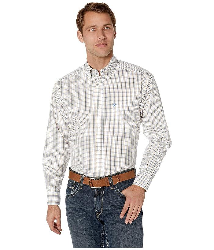 Ariat Wrinkle Free Ludlow Shirt (White) Men