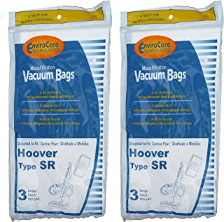 6 Hoover Duros Type SR Vacuum Bags with MicroFiltration Vacuum Cleaners, HO-101010SR, 401010SR, S3590, S3591, S3590HV