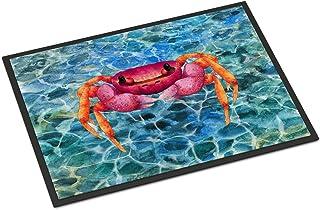 Caroline's Treasures BB8526MAT Crab Indoor or Outdoor Mat 18x27, 18H X 27W, Multicolor