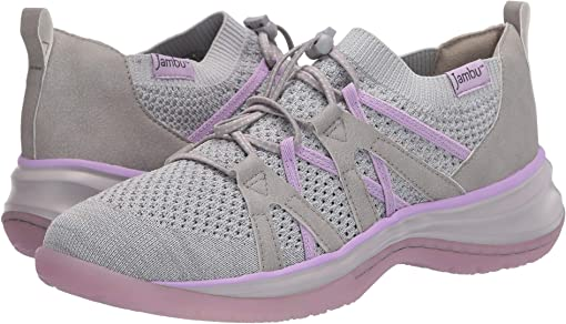 Light Grey/Lilac
