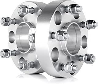 OCPTY 1.25 Hubcentric Wheel Spacers 5 lug 5x5 to 5x5 5x127 to 5X127 fits for Jeep Wrangler Rubicon Sport Jeep Cherokee Limited Overland XK JK WK Thread Pitch 1/2