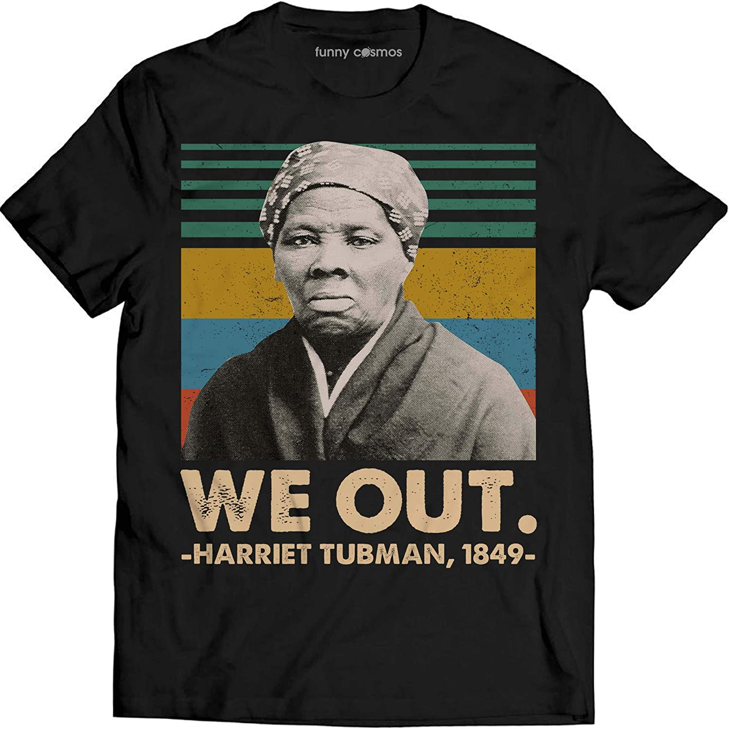 girls or adults Black Women History Sweater for kids boys toddlers We Out Harriet Tubman 1849 Sweatshirt