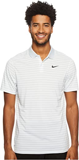 a4e9a65ca Pure Platinum/White/Black. 24. Nike Golf. Dri-FIT™ Mini-Stripe Victory Polo