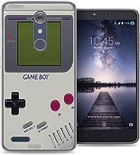 ZTE Blade X Max case - [Retro GameBoy] (Crystal Clear) PaletteShield Soft Flexible TPU gel skin phone cover (fit ZTE Blade X Max/ Max 3/ Max XL/ Zmax Pro)