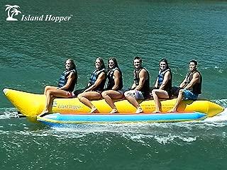 Island Hopper 6 Passenger Inline Elite Class Heavy Commercial Banana Boat Towable Tube