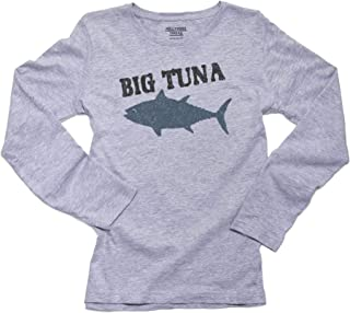 Trendy Big Tuna Graphic Perfect for Office Women's Long Sleeve T-Shirt