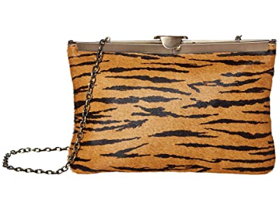 Patricia Nash Twisted Woven Embossed Asher Frame Clutch (Tiger) Clutch Handbags