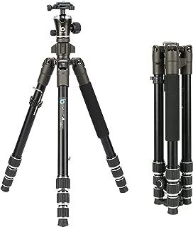 BONFOTO 671A Travel Aluminum Camera Tripod, Lightweight with 1/4