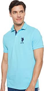 U.S. POLO ASSN. Men's Slim Fit Solid Polo Shirt