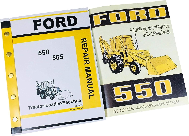 Set Ford 550 Tractor Loader Owners Nashville-Davidson Mall Operators store Backhoe Man Service