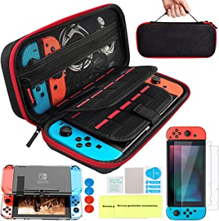 Th-some Kit de Accesorios 14 en 1 para Nintendo Switch,